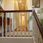 Stairway to upper floor