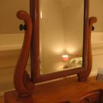 Victorian mirror in Bedroom